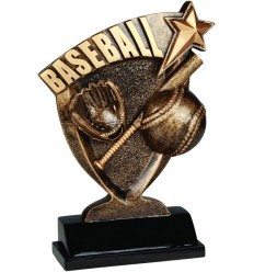 Broadcast Baseball Resin