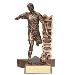 "6 1/2"" Billboard Series Soccer Resin"